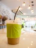 Café helado imagen de archivo libre de regalías