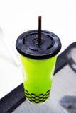 Café helado en café Fotografía de archivo libre de regalías