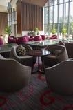 Café in Hotel lobbyï ¼ ŒInterior-Design Lizenzfreie Stockbilder