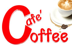 Café hoy Fotos de archivo libres de regalías