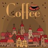 Café, illustration de vecteur illustration libre de droits