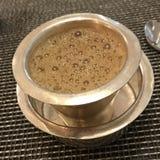 Café indio de la mañana fotografía de archivo