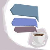 Café infographic Ilustração Stock