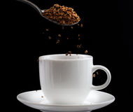 Café instantané Photo stock