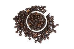 Café inteiro sido foto de stock royalty free