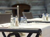 Café interior de la calle Fotografía de archivo
