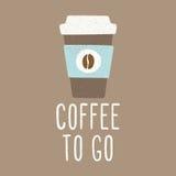 Café a ir Imagem de Stock