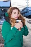 Café a ir Fotografía de archivo libre de regalías