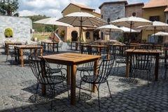 Café italiano del estilo Fotos de archivo libres de regalías