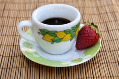 Café italien Photo stock