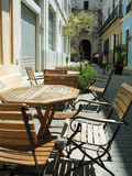 café la Havane extérieure Images libres de droits