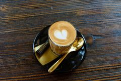 Café Latte Photographie stock