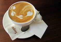 Café Latte Photo stock