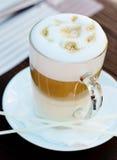 Café Latte stockbild