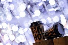 Café a levar embora Fotos de Stock Royalty Free