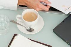 café Longo-desejado Foto de Stock