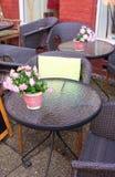 Café-Lueneburg-Eu Imagens de Stock Royalty Free