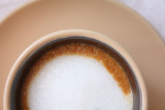 Café Macchiato fotografia de stock