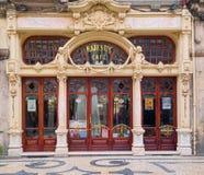Café majestueux, Porto, Portugal Photographie stock