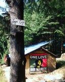 Café Manali de las montañas Fotos de archivo libres de regalías