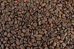 Café marrón asado grano imagenes de archivo
