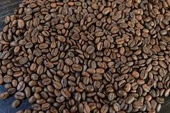 Café marrón asado grano imagen de archivo