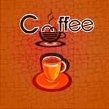 Café menú stock de ilustración