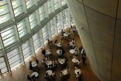 Café moderno de la arquitectura Fotos de archivo libres de regalías