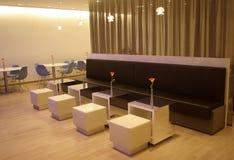 Café moderno de Minimalistic Fotos de Stock