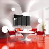 Café moderno novo Fotografia de Stock Royalty Free