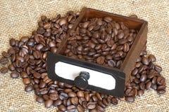 Café-moedor Fotografia de Stock