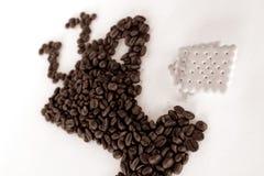 Café mug Photo libre de droits