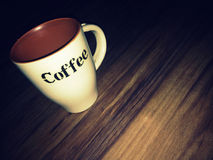 Café mug Imágenes de archivo libres de regalías