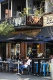 Café na cidade de West Australian de Fremantle imagens de stock royalty free