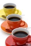 Café na linha. Fotografia de Stock