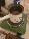 Café na maneira balcan Imagens de Stock