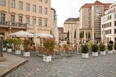 Café na rua Fotografia de Stock