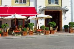 Café na rua fotos de stock royalty free