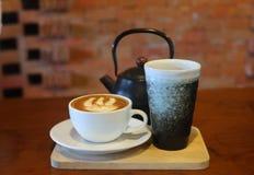 Café na tarde foto de stock royalty free