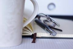 Café no escritório Fotos de Stock