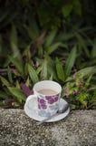 Café no jardim Imagens de Stock