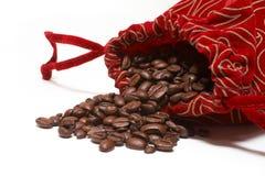 Café no saco Imagens de Stock Royalty Free