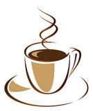 Café noir Image libre de droits