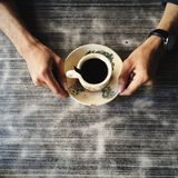 Café noir Image stock