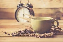 Café noir chaud ou Americano d'arome Photographie stock libre de droits