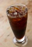 Café noir de glace Photographie stock libre de droits