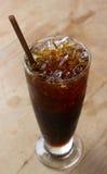 Café noir de glace Image stock