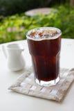 Café noir de glace, americano Photos stock