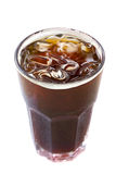 Café noir de glace, americano Photos libres de droits