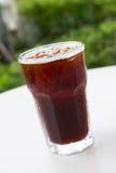 Café noir de glace, americano Images libres de droits